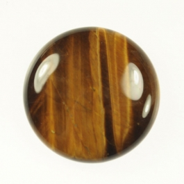 Tiger Eye 25mm Round Cabochon