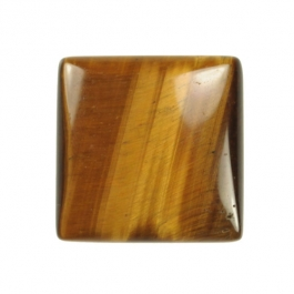 Tiger Eye 25mm Square Cabochon