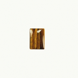 Tiger Eye 6x8mm Rectangle Cabochon - Pack of 2