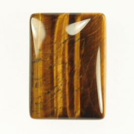 22x30mm Tiger Eye Rectangle Cabochon - Pack of 1