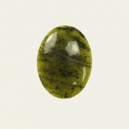 Jade 10x14mm Oval Cabochon - Pack of 2