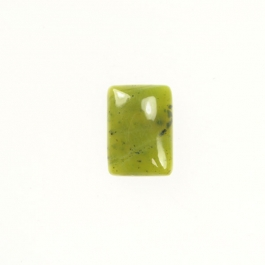 Jade 6x8mm Rectangle Cabochon - Pack of 2