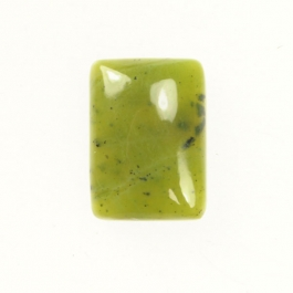 Jade 10x14mm Rectangle Cabochon - Pack of 2