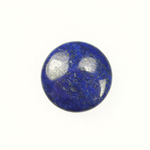 Lapis 10mm Round Cabochon - Pack of 2