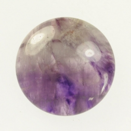 Dog Teeth Amethyst 25mm Round Cabochon
