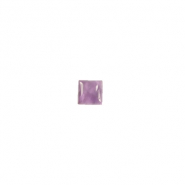 Amethyst 10mm Square Cabochon - Pack of 2
