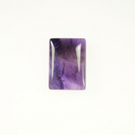 Amethyst 10x14mm Rectangle Cabochon - Pack of 2
