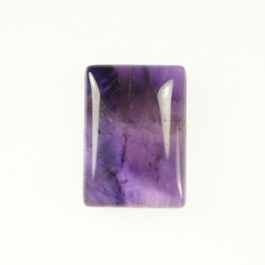 Amethyst 13x18mm Rectangle Cabochon