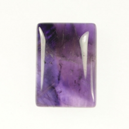 Amethyst 18x25mm Rectangle Cabochon
