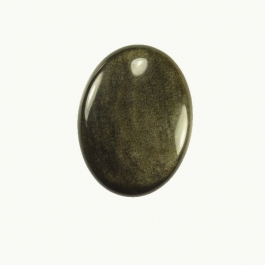 Golden Obsidian 10x14mm Oval Cabochon - Pack of 2
