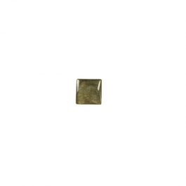 Golden Obsidian 6mm Square Cabochon - Pack of 2