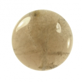 Smoky Quartz 25mm Round Cabochon