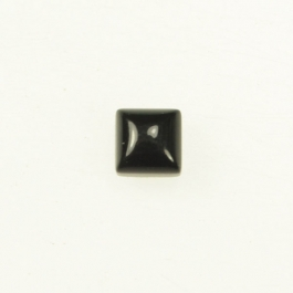 Onyx 6mm Square Cabochon - Pack of 2