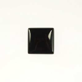Onyx 10mm Square Cabochon - Pack of 2