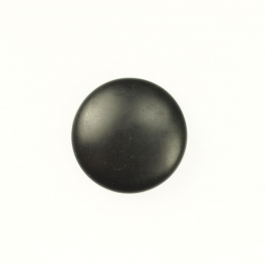 Matte Onyx 10mm Round Cabochon - Pack of 2