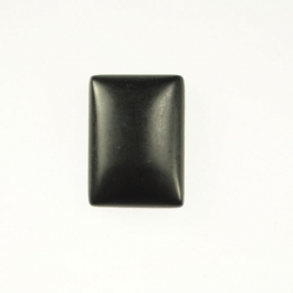 Matte Onyx 10x14mm Rectangle Cabochon - Pack of 2