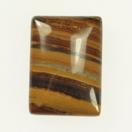 22x30mm Green Goldstone Rectangle Cabochon - Pack of 1