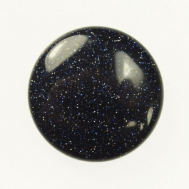 Blue Goldstone 25mm Round Cabochon