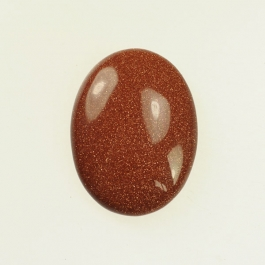 Goldstone 10x14mm Oval Cabochon - Pack of 2