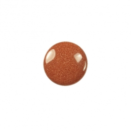 Goldstone 10mm Round Cabochon - Pack of 2