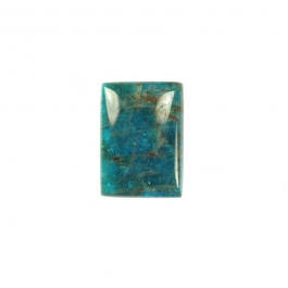 Blue Apatite 10x14mm Rectangle Cabochon - Pack of 2