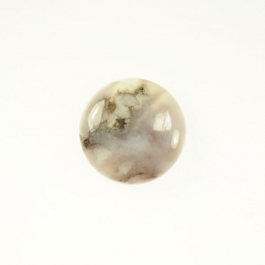 New Brazilian Agate 10mm Round Cabochon - Pack of 2