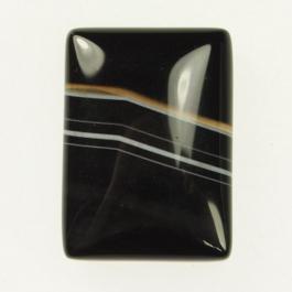 Sardonyx 18x25mm Rectangle Cabochon