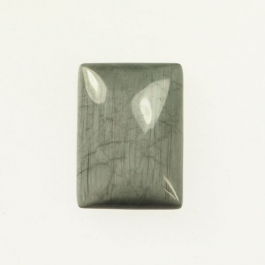 Cats Eye 10x14mm Rectangle Cabochon - Pack of 2