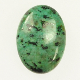 22x30mm African Turquoise Oval Cabochon - Pack of 1