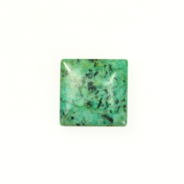 African Turquoise 10mm Square Cabochon - Pack of 2