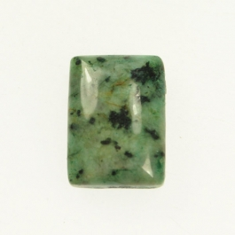 African Turquoise 10x14mm Rectangle Cabochon - Pack of 2
