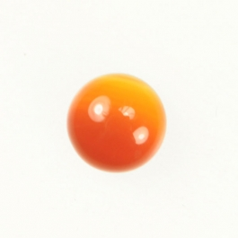 Carnelian 10mm Round Cabochon - Pack of 2