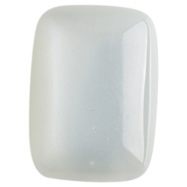 White Moon Stone 13x18mm Rectangle Cabochon
