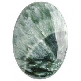 Seraphinite 18x25mm Oval Cabochon