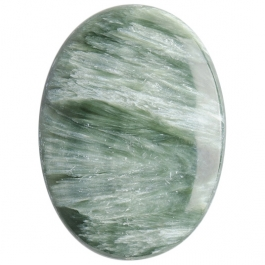 Seraphinite 22x30mm Oval Cabochon