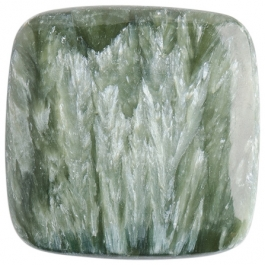 Seraphinite 25mm Square Cabochon