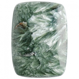 Seraphinite 22x30mm Rectangle Cabochon