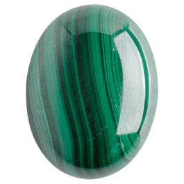 Malachite 15x20 Oval Cabochon