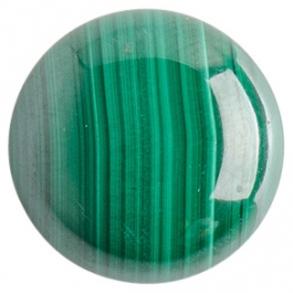Malachite 16mm Round Cabochon