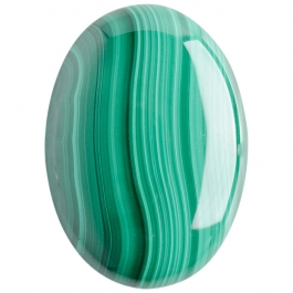 Malachite 25x35mm Oval Cabochon