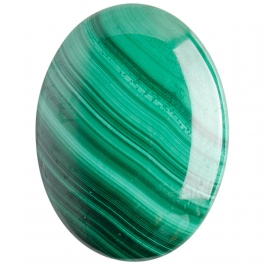 Malachite 30x40mm Oval Cabochon