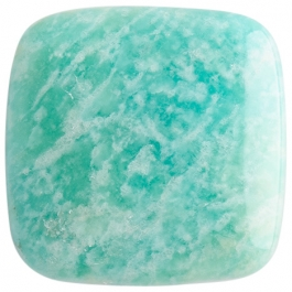 Amazonite 25mm Square Cabochon