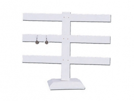 12-Pair Earring Stand Black