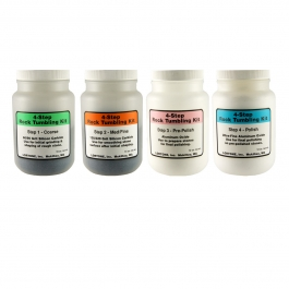 Lortone 4-Step Abrasive and Polishing Kit