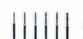 Diamond Coated 3/32 Drill Bits - Set of 6