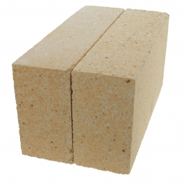 WireJewelry High Density/Super Duty Hard Fireclay Brick, Rated up to 3200 Degree Fahrenheit - 2 Pack