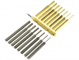 8 Piece Mini Brass Mandrel Set