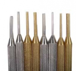 8 Piece Brass And Steel Mini Mandrel Set