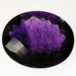 30x38mm Purple Fluorite Gemstone