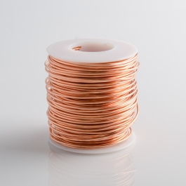21 Gauge Round Dead Soft Copper Wire - 1LB